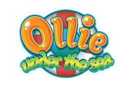 This logo was created for an animated TV series for young viewers with Ollie, a the cartoon submarine hero, ventures into an array of underwater situations with very colorful characters and underwater scenery.