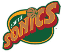 Official NBA Team Logo/Trademark used from 1995 - 2004 Seasons.