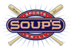 This logo was created for a sports grill identity & signage for Major League World Series MVP Jeff Suppan.